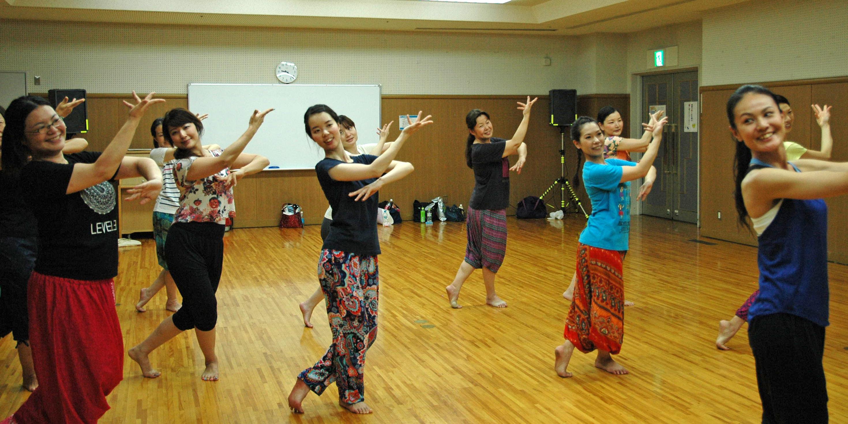 ボリウッドダンスの体験教室